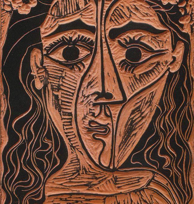 Linoleum di Pablo Picasso