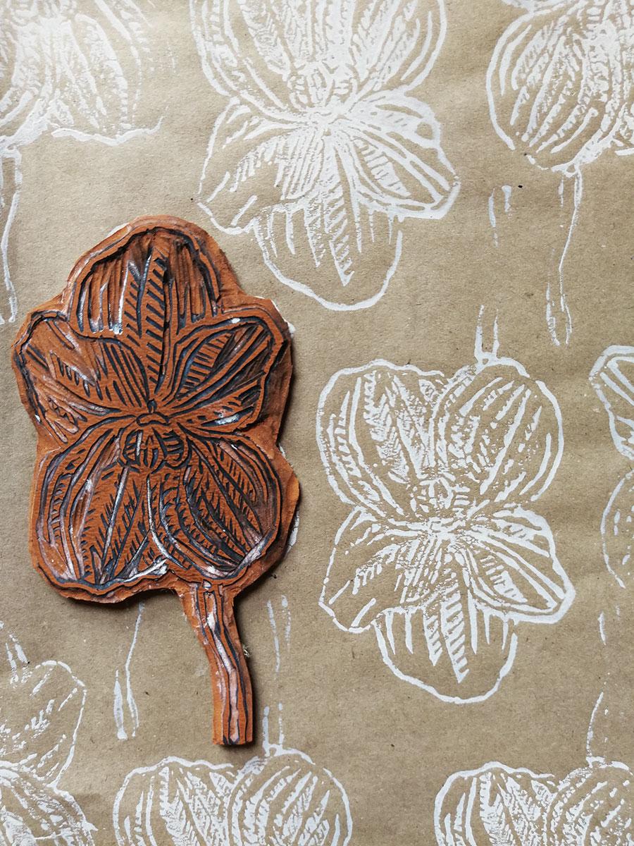 Linoleum Orchidea | GGStudio