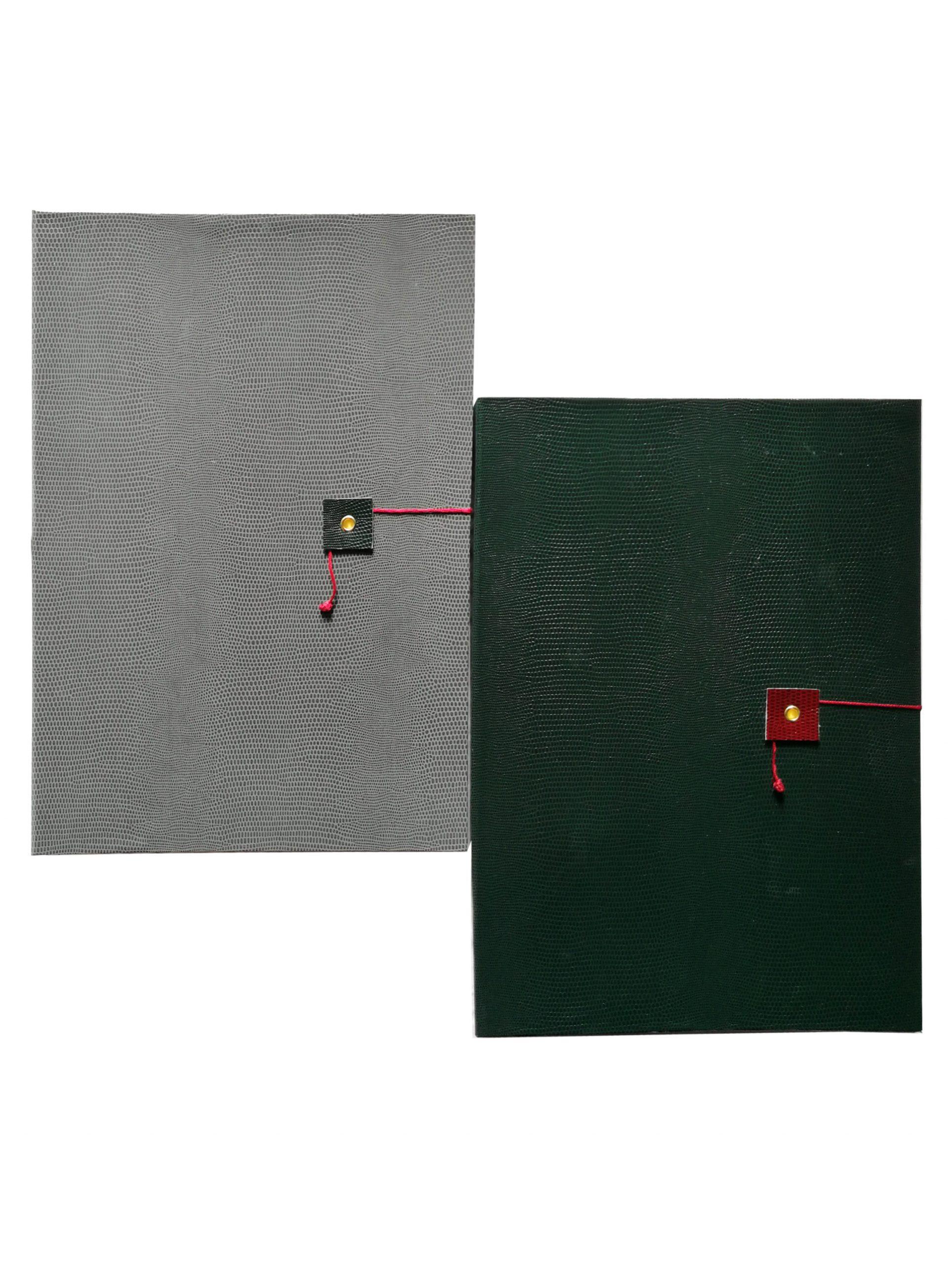 Quaderni 4a. A4 Grigio e verde