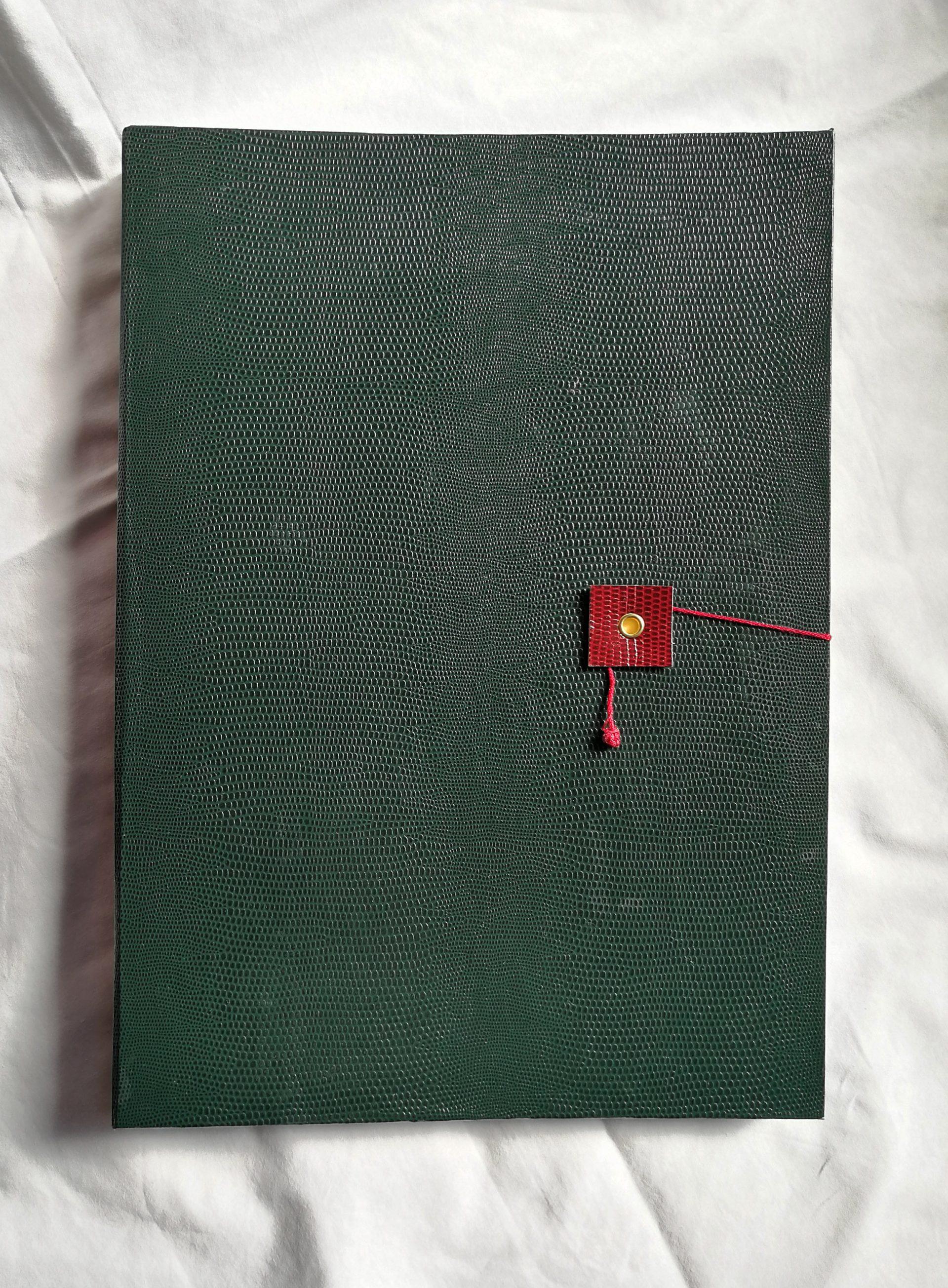 Quaderno Grande A4 Verde