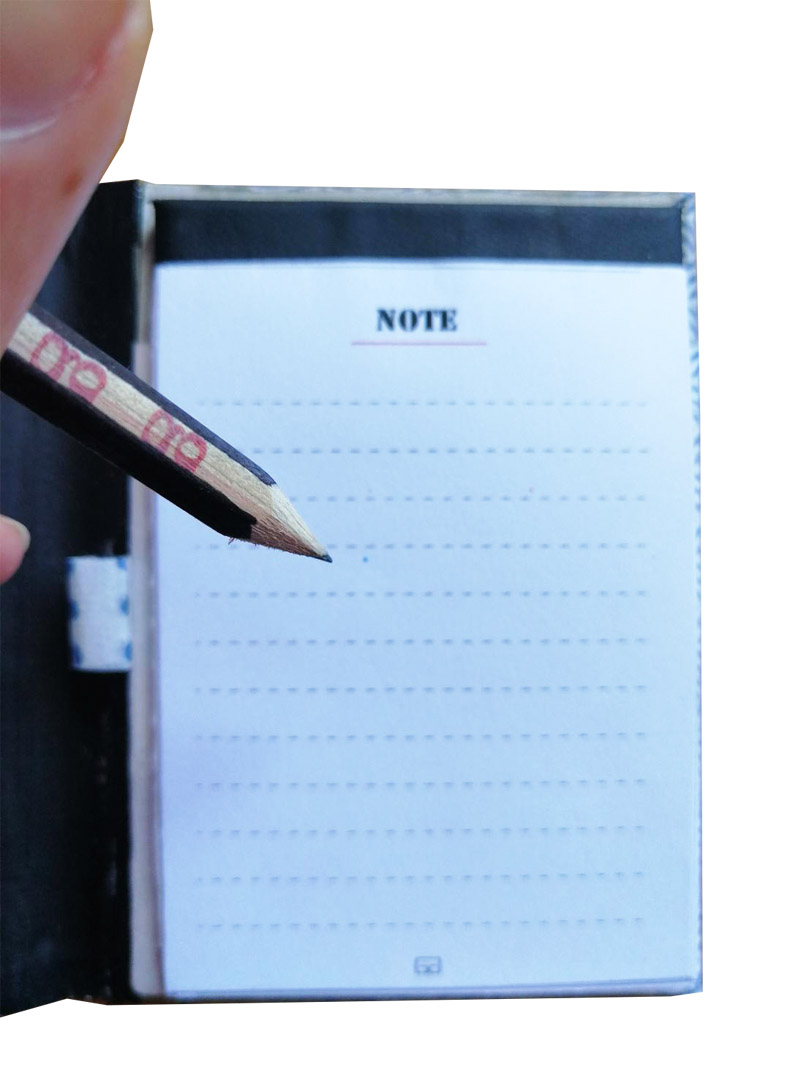 Notes con matita