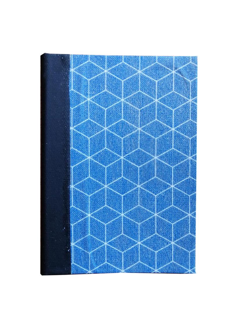 Fantasia blu cubi